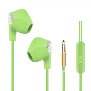 Наушники HeyDr W-2 Wired Earphones Green