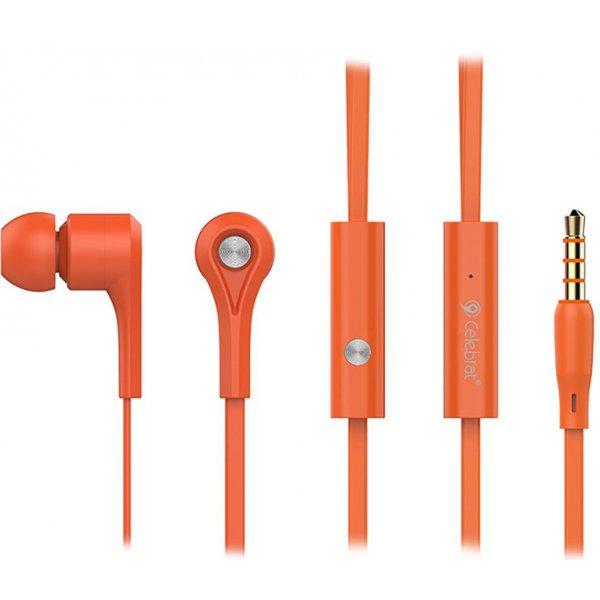 Наушники Celebrat D3 Orange