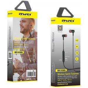 Наушники AWEI B930BL Wireless Earphones Black