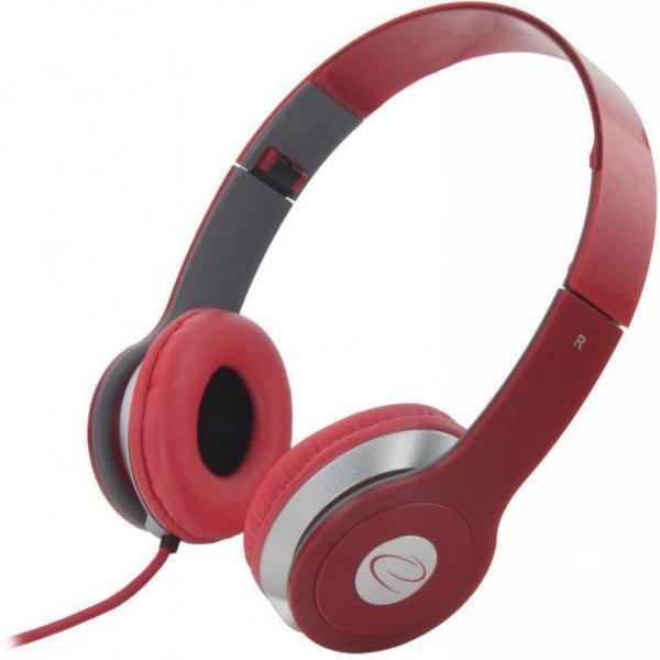 Наушники Esperanza EH145R Red (мониторы)