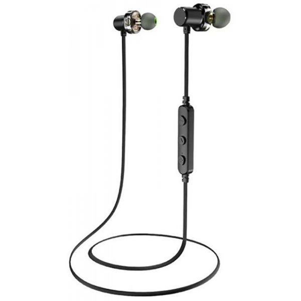 Наушники AWEI X680BL Bluetooth Dual Driver Earphone Black