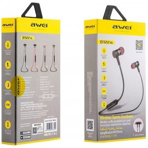 Наушники AWEI B922BL Bluetooth Earphones Black