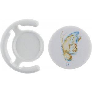 Держатель для телефона TOTO Popsocket plastic BNS-C 900 Butterfly (White)