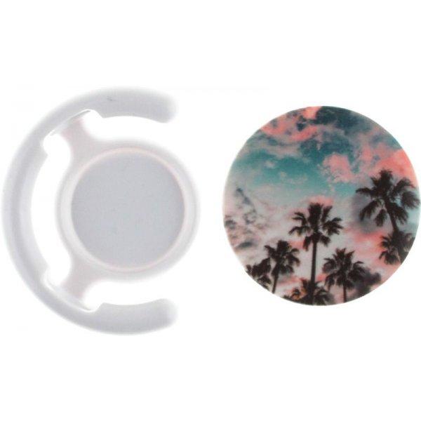 Держатель для телефона TOTO Popsocket plastic BNS-C 845 Tree Palm (White)