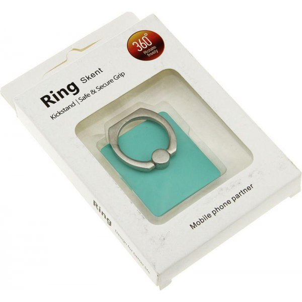 Автодержатель Ring Holder KickStand Universal Smartphone Green