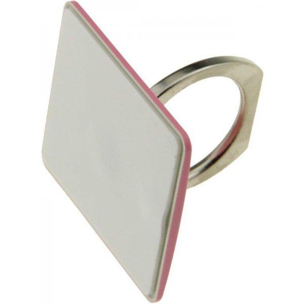 Автодержатель Ring Holder KickStand Universal Smartphone Pink