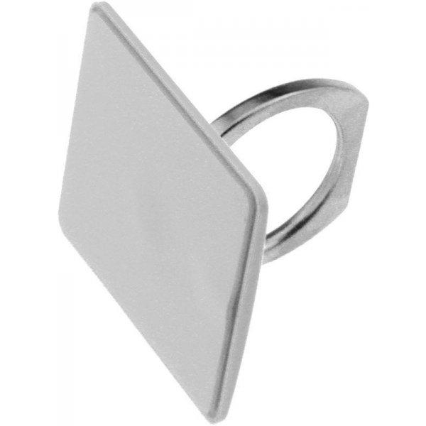 Автодержатель Ring Holder KickStand Universal Smartphone White