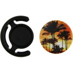 Держатель для телефона TOTO Popsocket plastic BNS 240 Palm Trees Black