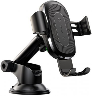 avtoderzhatel baseus black blackosculum car charger gravity mount type wireless