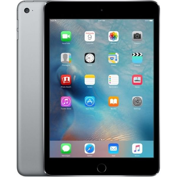 Планшет Apple iPad mini 4 Wi-Fi + Cellular 128GB Space Gray (MK8D2, MK762)