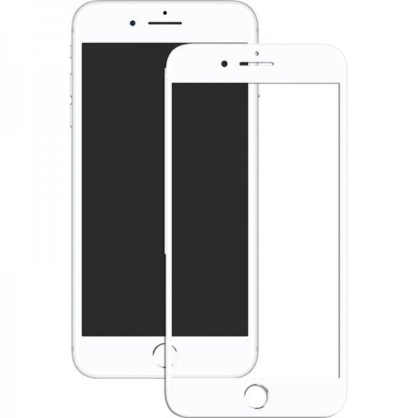 Защитное стекло Mocolo 2.5D Full Cover Tempered Glass iPhone 8 White