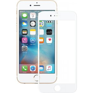 Защитное стекло Mocolo 2.5D Full Cover Tempered Glass iPhone 6/6s Plus Silk White
