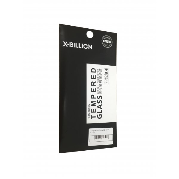 Защитное стекло 3D SLIM 0.2mm Huawei P20 Lite Black