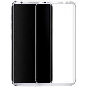 Защитное стекло 3D EDGE Samsung S7 Edge Silver