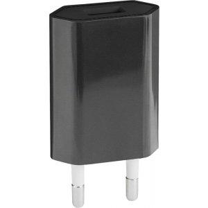 Сетевое зарядное устройство TOTO TZH-51 Travel charger 1USB 1A Black