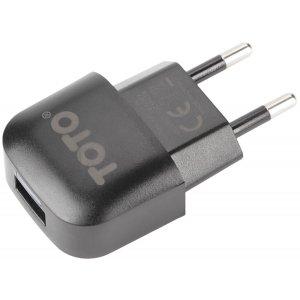 Сетевое зарядное устройство TOTO TZV-42 Led Travel charger 1USB 1A Black