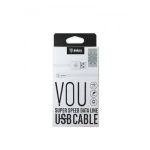 Кабель USB Cable INKAX CK-13 Lightning 1m White