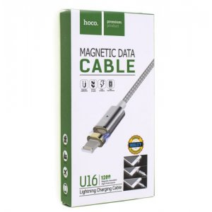 Кабель USB Cable HOCO U16 Magnetic DataCable 1200 IP6 Silver