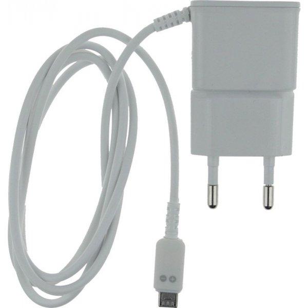 Сетевое зарядное устройство TOTO TZZ-60 Travel charger MicroUsb 1A 1.2m White