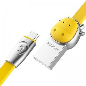 Кабель Rock Chinese Zodiac  Micro cable 1M Cow-Yellow