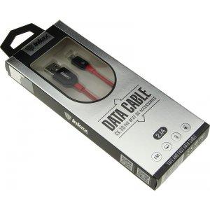 Кабель INKAX CK-30 Micro cable 1m Black/Red