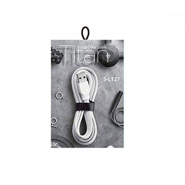 Joyroom S-L127 Titan Series Lightning USB Cable (1.2m) —White