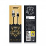 Joyroom S-M336 Jess Series Lightning USB Cable (1m) — Dark Gray
