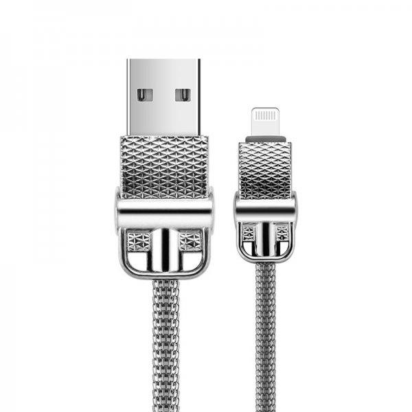Мікро-USB-кабель Joyroom S-M336 Jess Series (1 м) - сріблястий