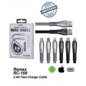 USB cable Remax RC-159 Type-C Black