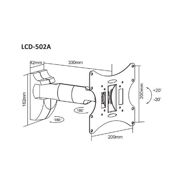 Кронштейн iTECH LCD-502A B