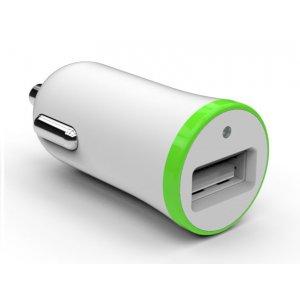 Автомобильное зарядное устройство TOTO TZR-10 Car charger 1USB 2,1A White