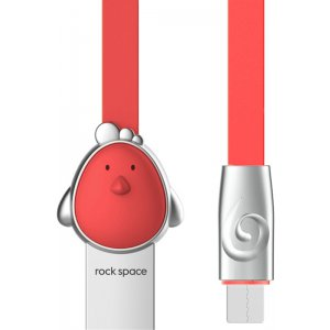 Кабель Rock Chinese Zodiac  Micro cable 1M Cook-red