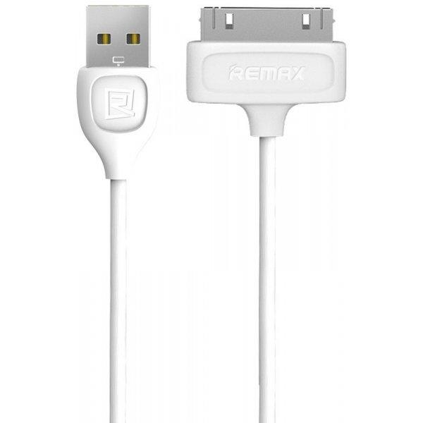 Кабель Remax Lesu iPhone 4 RC-050 White