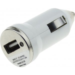 Автомобильное зарядное устройство TOTO TZZ-54 Car charger 1USB 1A White