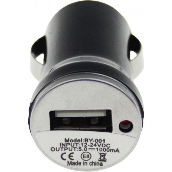 Автомобильное зарядное устройство TOTO TZZ-54 Car charger 1USB 1A Black