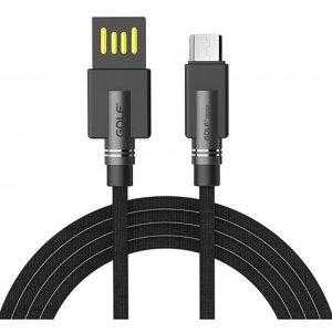 Кабель GOLF GC-54M Micro cable 1m Black