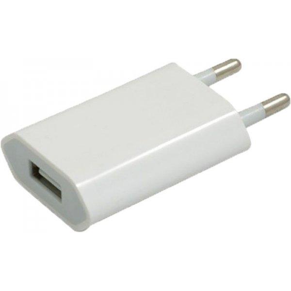 Сетевое зарядное устройство TOTO TZH-48 Travel charger 1USB 1A White