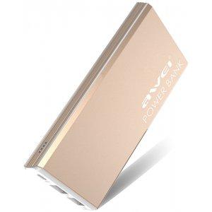 Портативная батарея AWEI P92K 10000mAh Luxury Gold
