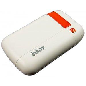 Портативная батарея INKAX Power Bank 7500 mAh PV-08 3.1A Li-Pol White