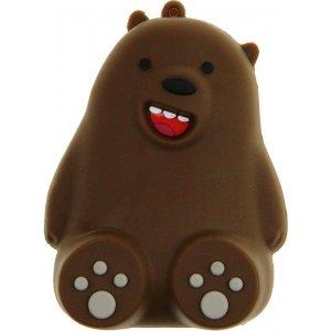 Портативная батарея TOTO TBHQ-91 Power Bank 8800 mAh Emoji Bear Brown