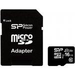 Карта памяти Silicon Power microSDHC class 10 UHS-I Elite SD adapter 16Gb