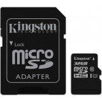 Карта памяти Kingston microSDHC/microSDXC class 10 UHS-I SD adapter 32Gb