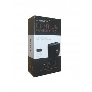 Сетевое зарядное устройство MARAKOKO MA11  3-Port USB Quick Charge 3.0 Black