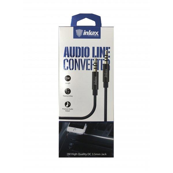 AUX кабель INKAX AL-01 1м білий