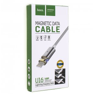 Кабель USB Cable HOCO U16 Magnetic DataCable 1200 IP6 Silver