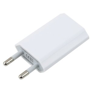 Сетевое зарядное устройство Original iPhone 1-Port USB 1A White