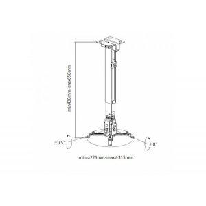 Кронштейн для проектора iTech PRB-15 S