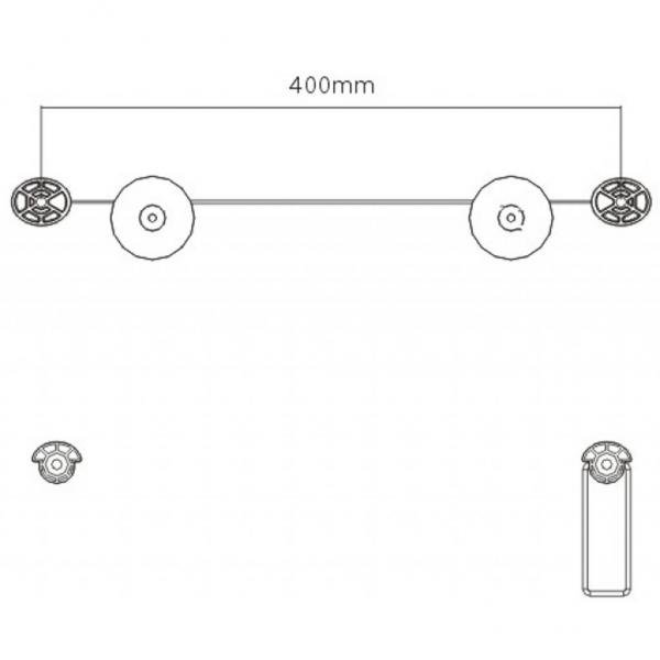 Кронштейн Brateck LED-01
