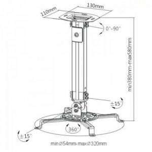 Кронштейн для проектора iTech PRB-07