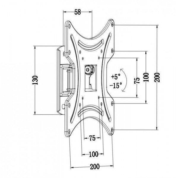 Кронштейн iTech LCD-511